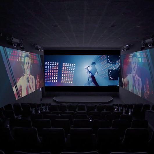 マークイズ福岡ももちに最新の上映システム「ScreenX」が九州初上陸!
