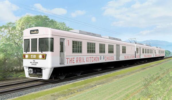 今年3月運行開始のレストラン列車「THE RAIL KITCHEN CHIKUGO」が夏メニューを発表!予約開始は3/1からスタート