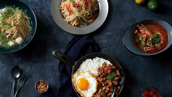 本場の味をカフェスタイルで!本格タイ料理「マンゴツリーカフェ天神」が3月7日九州初上陸!