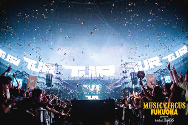 福岡最大級の音楽フェス「MUSIC CIRCUS FUKUOKA」が今年もヤフオクドームでオールナイト開催!