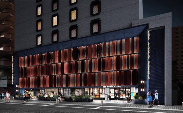 トレンドの次世代ホテル「ライフスタイルホテル」がついに福岡に!「THE LIVELY」2019年7月開業!