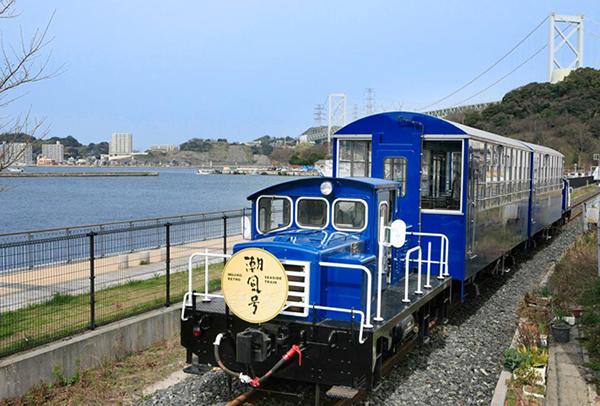 関門海峡の景色を楽しむトロッコ列車「潮風号」が3月9日より期間限定運行開始!
